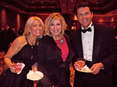 With Michelle and co-emcee Cindy Morrison