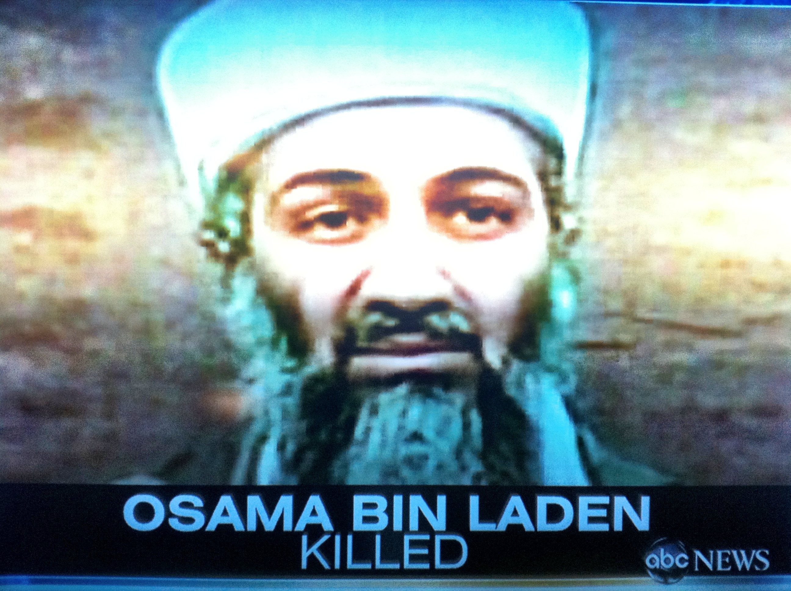 Bin pics released death laden osama