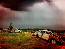 More stormy weather over hard hit Joplin, MO