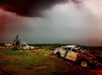 More severe weather over Joplin, MO