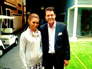 """Neighbors"" star Toks Olagundoye"