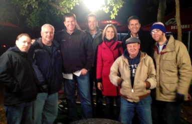 "Tulsa's Channel 8's ""Gameday"" crew"