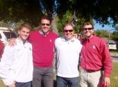 Tommy, Mark, Jeff Olsen and David