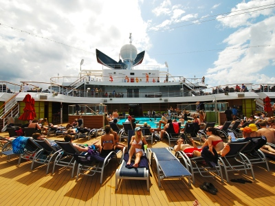 On board one of my cruises
