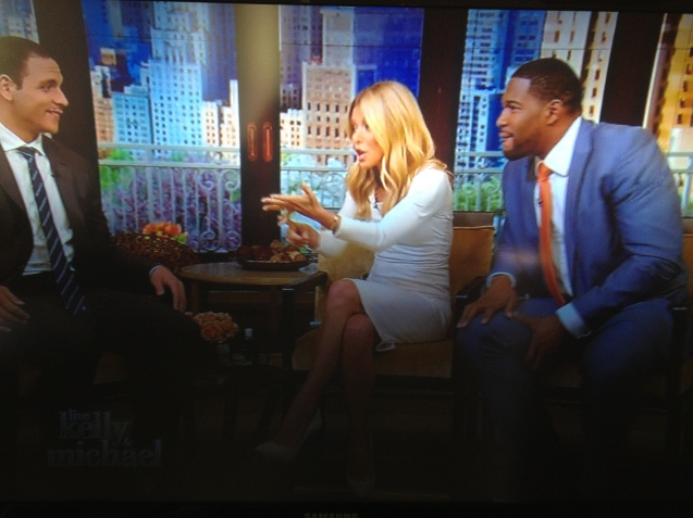"Image from ""Live! with Kelly and Michael"" show"