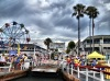 From the ferry out of Balboa Island to the Newport Beach peninsula