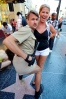 Michelle with a Reno 911 cop in Hollywood