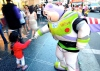 Buzz Lightyear makes a friend in Hollywood